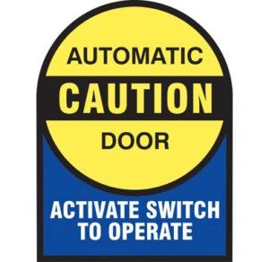 automatic door activate switch